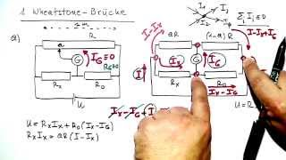 Wheatstone-Brücke ☆ Beispiel-Aufgabe & Lösung ☆ Physik Lernvideo