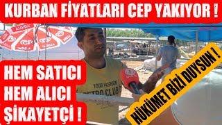 Antalya Hayvan Pazarında Kurban Fiyatları   Vatandaş Dertli