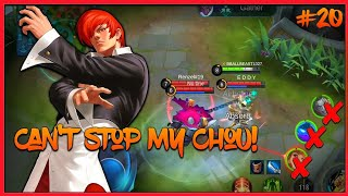 Unstoppable Chou👌 Road to 500 Subs🔥 || Chou Montage#20 || MLBB