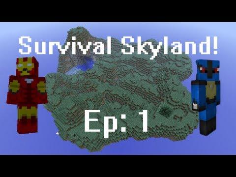 Survival Skyland! Ep 1: Watermelon Thief!