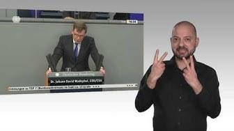 Gebärdensprachvideo: Bundestag stimmt Ergänzung des Irakeinsatzes zu