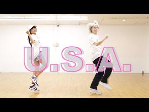 【1時間練習で踊ってみた】DA PUMP「U.S.A.」【りりり×よきき】