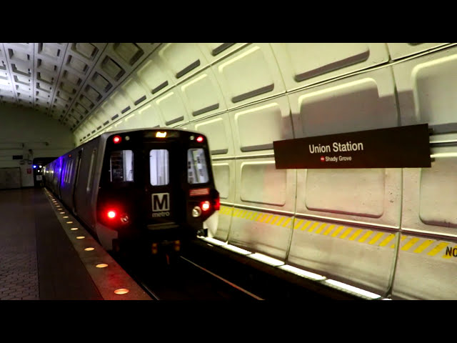 WMATA Metrorail : Union Station [ Red Line ]