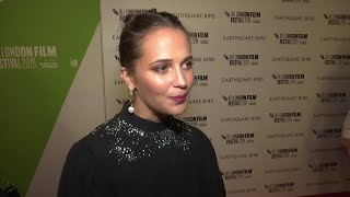 Vikander spreads wings for 'Earthquake Bird'
