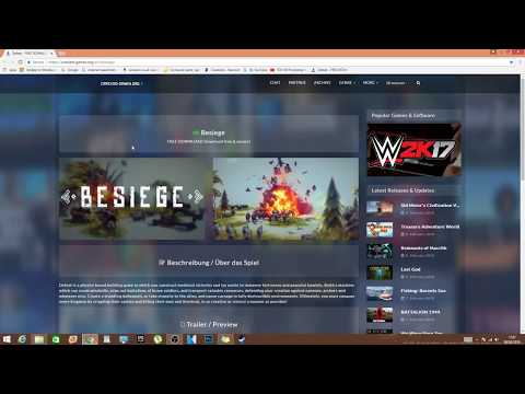 How To Install And Download Games And Besieged For 100% FREE