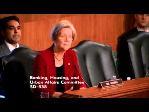 Elizabeth Warren Expresses Outrage Over Jamie Dimon