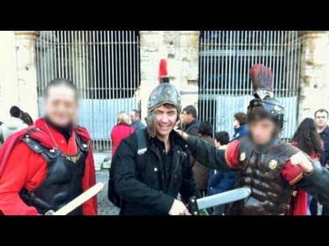 How To Avoid A Gladiator Photo-Op Scam