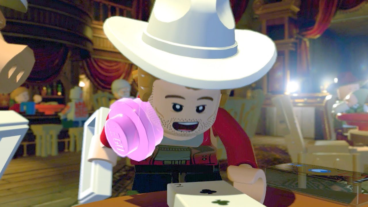 Video LEGO Marvel Super Heroes 2 Star-Lord Cheats at Poker