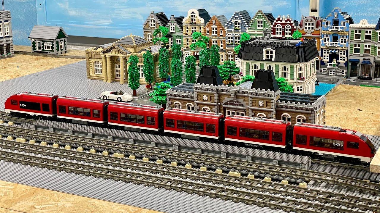 Download XXL Bahnsteig. - Bau einer Lego Stadt Teil 190.