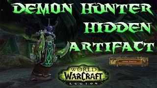 World of Warcraft Hidden Potential (Artifact Skin) Demon Hunter Legion