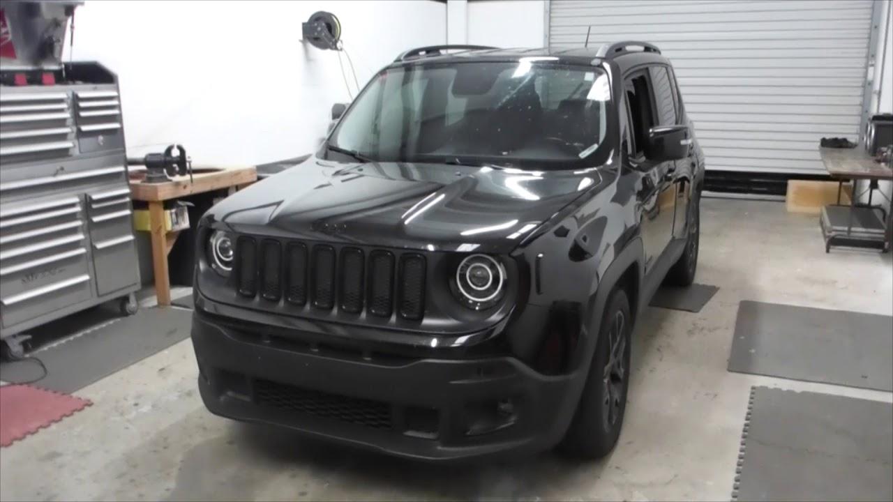 2017 Jeep Renegade Phase 2 Lighting Blackout Youtube