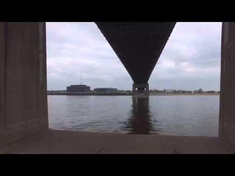 Centennial bridge Quad cities Iowa