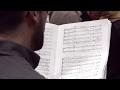 "U-M Chamber Choir Prepares for the World Premiere of Tarik O'Regan's ""Mass Observation"""