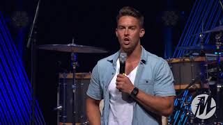 Davey Blackburn at Momentum Youth Conference 2018