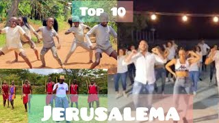 Top 10 Best Jerusalema dance challenges ||WORLDWIDE.
