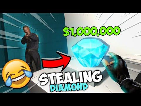 I STOLE A DIAMOND...