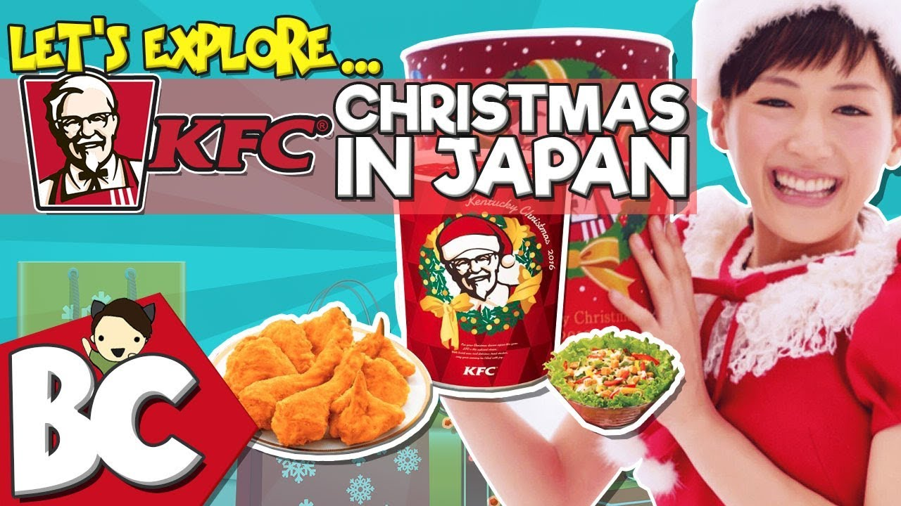Kfc Japan Christmas.Let S Explore Kentucky Fried Christmas In Japan Kfc Gigi Pets 1