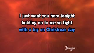 Karaoke All I Want For Christmas Is You Michael Bublé