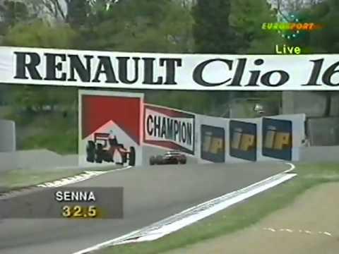 Ayrton Senna: Imola 1993 Qualifying accident