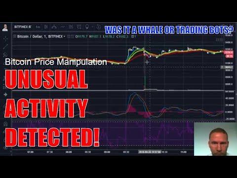 Bitcoin News Today - Bitcoin Price Manipulation & Algorithmic Trading Bots - 28 April 2018