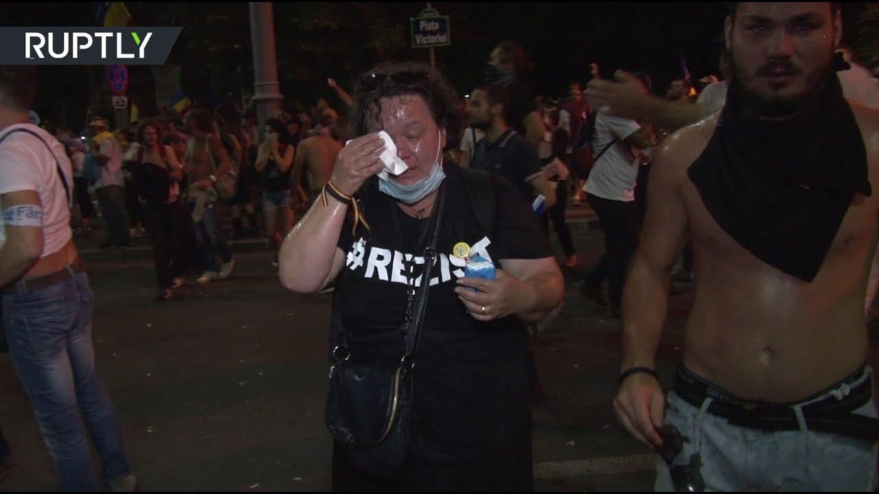 Беспорядки в Бухаресте: более 450 пострадавших