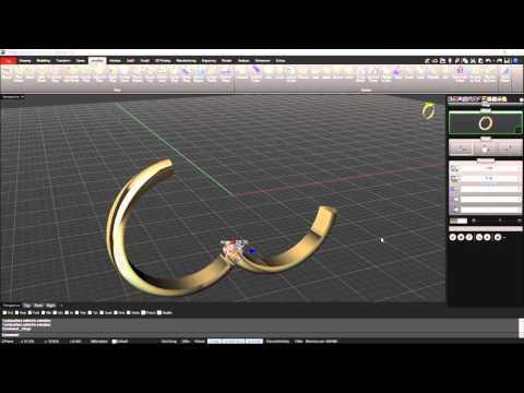 RhinoGold 6.5 - Create a Hinge!