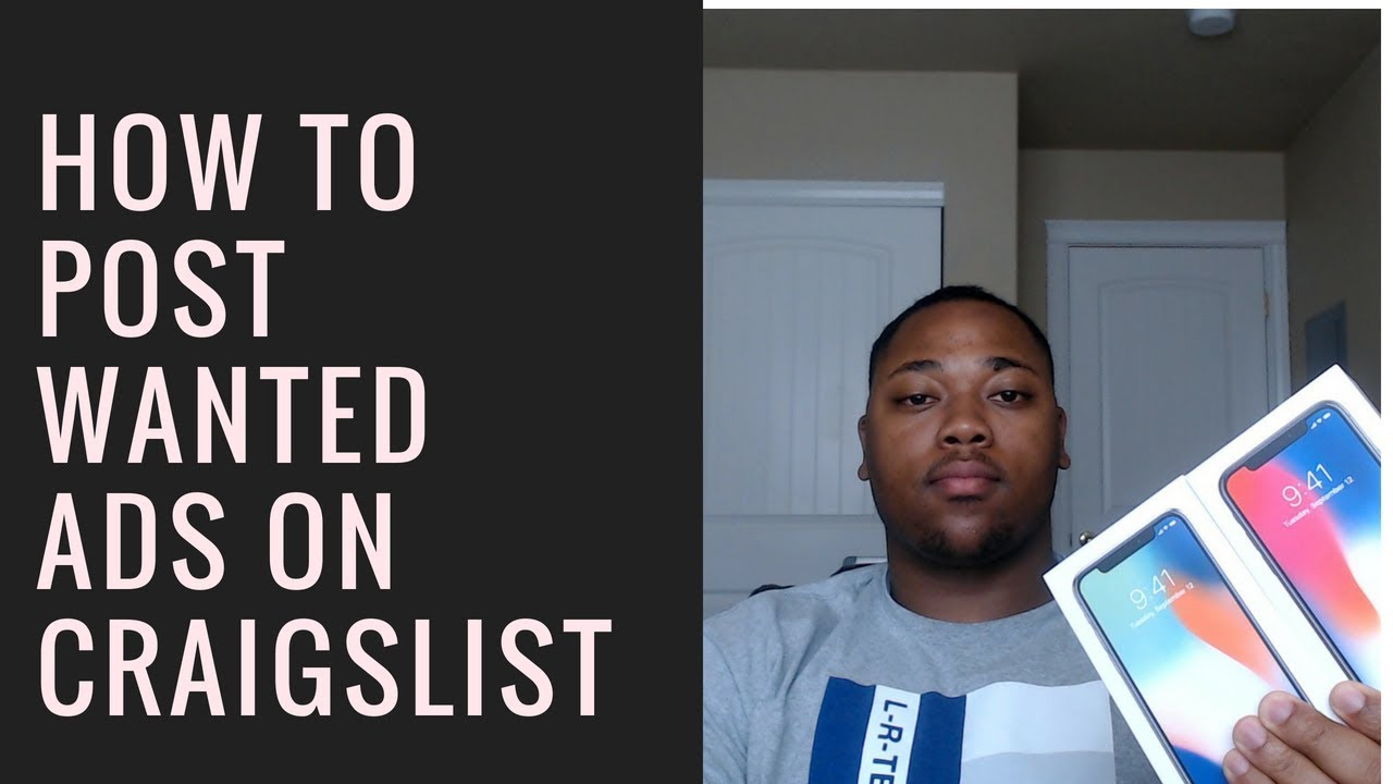 How to Post Wanted Ads on Craigslist Part 2 - YouTube