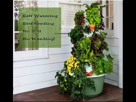Tower Garden; how does it work? - YouTube