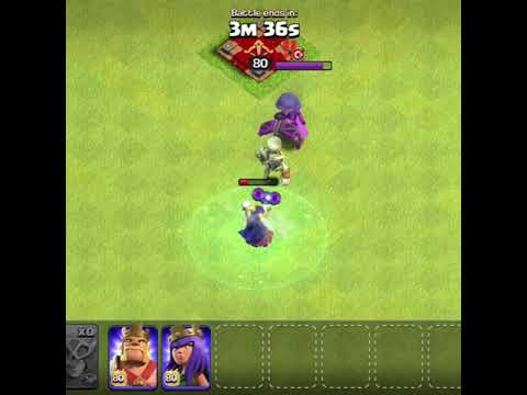 Super Witch VS Party Queen💥 | Who Will Win | Clash Of Clans |
