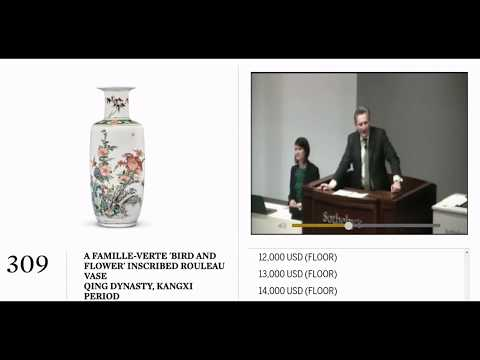 Sotheby's Kangxi Porcelain from the Jie Rui Tang Collection, FULL AUCTION
