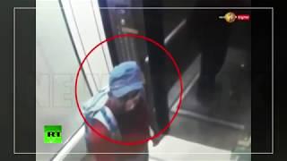 Sri Lanka hotel suicide bombers caught on CCTV