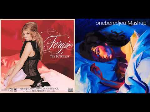 The Glamorous Louvre - Fergie vs. Lorde (Mashup)