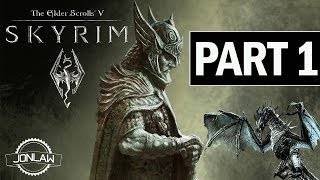 Elder Scrolls V: Skyrim Walkthrough - Part 1 Beginning - PC Gameplay