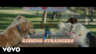 Скачать DNCE Kissing Strangers Lyric Video Ft Nicki Minaj