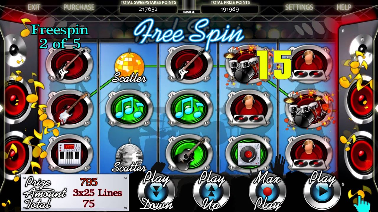 Free internet sweepstakes games cafe