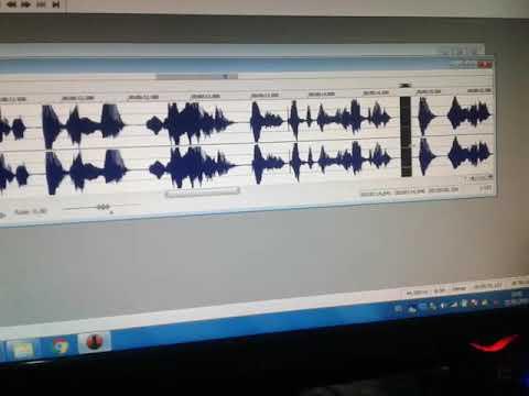 Como grabar, editar publicidades, spot, separadores para emisora de radio con sound forge