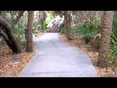 Easy Walk from June Dr to Lori Wilson Park, Cocoa Beach FL