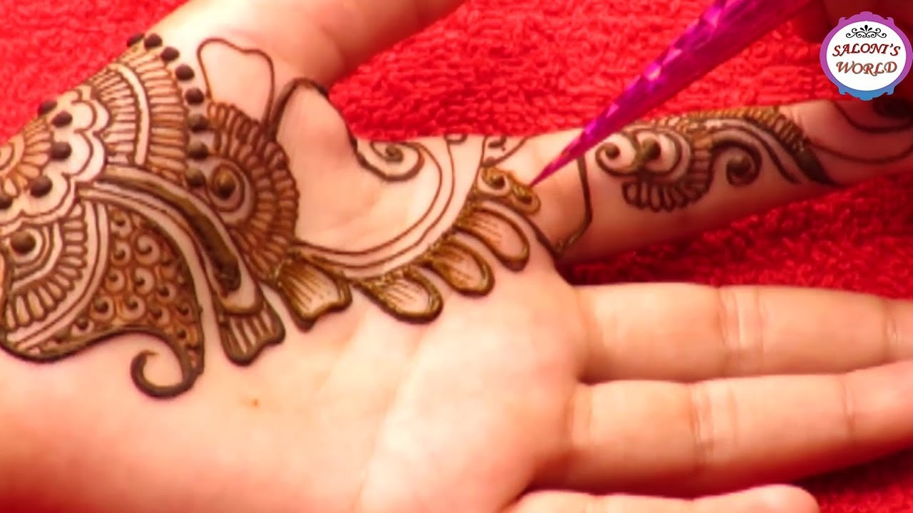 Modern Arabic Henna Mehndi Designs By Jyoti Sachdeva Youtube