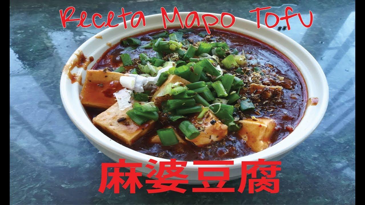 Como cocinar mapo tofu receta mapo tofu youtube for Como cocinar el tofu fresco