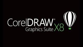 Gambar cover Baixar instalar e ativar Coreldraw X8- OFICIAL 2018