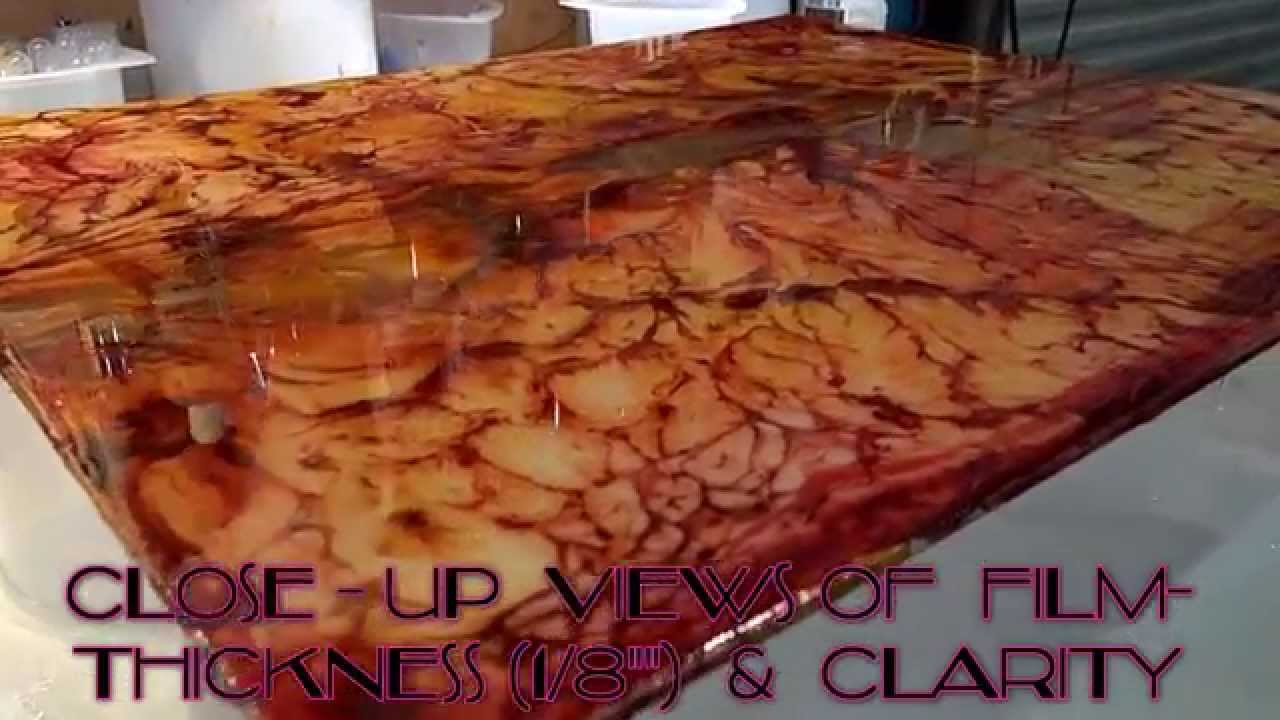 picture frame painting ideas - STEEL F X EPOXY RESIN COATING ON CANVAS