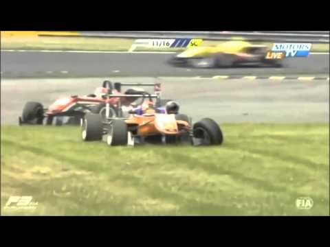 Top 10 European Formula 3 Crashes