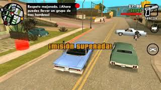 GTA San Andreas versión android (Misión 23,24,25)