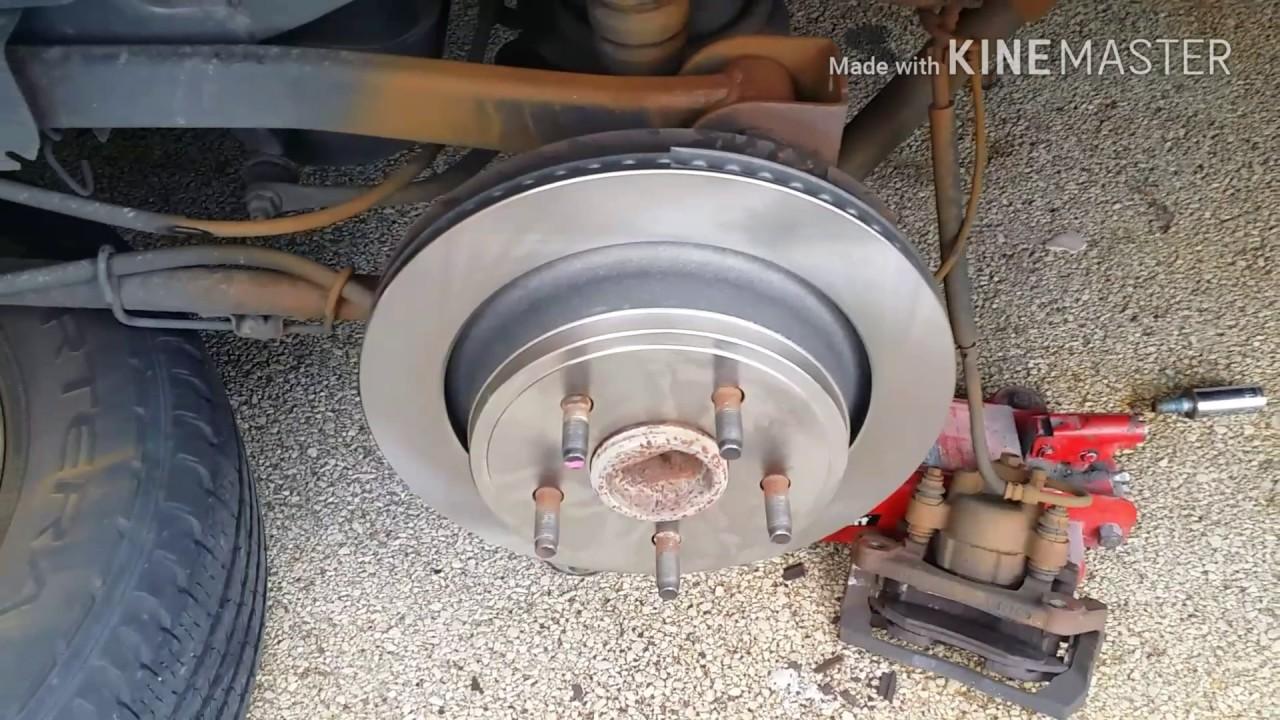 2000 something dodge durango rear brake job [ 1280 x 720 Pixel ]