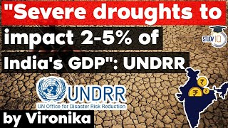 Severe droughts to affect 2-5% of India's GDP finds UN Disaster Risk Reduction report