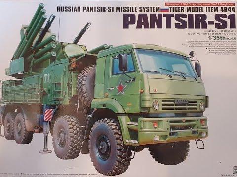 Download 1/35 Tiger Models Pantsir s1 pt1