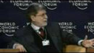 Davos Annual Meeting 2008 - Threats to the Global Trading System
