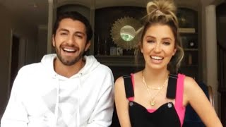 Et's lauren zima video chatted with kaitlyn bristowe and boyfriend jason tartick, about watching back her season on 'the bachelor: the greatest seasons -- ev...