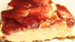 Strawberry Cheese Cake - No Bake