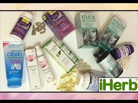 Покупки с  IHERB.com // UNBOXING IHERB // Косметика и еда